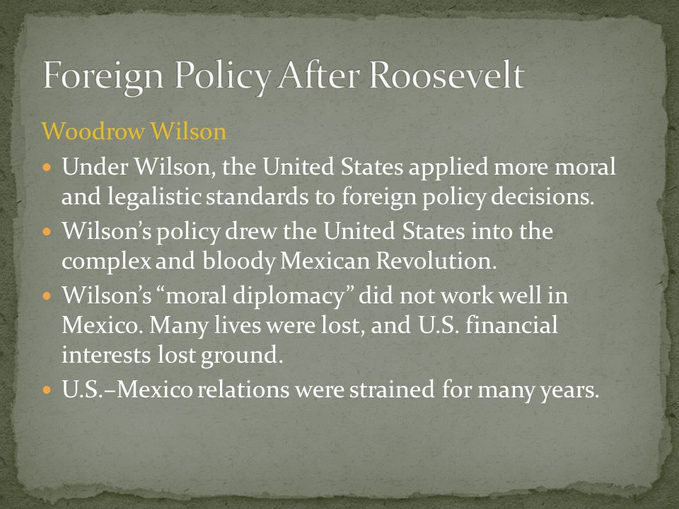 Foreign Policy After Roosevelt