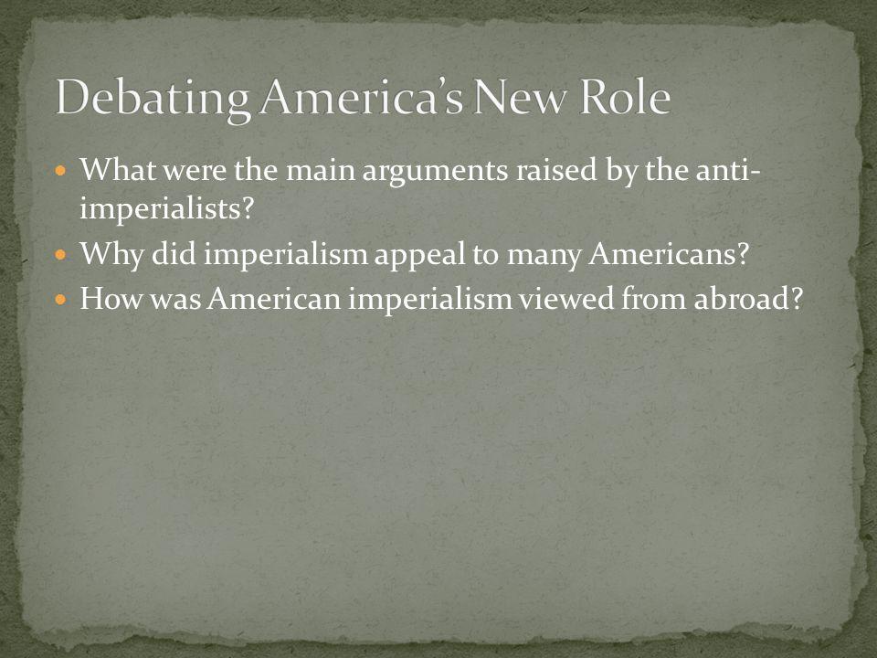 Debating America's New Role