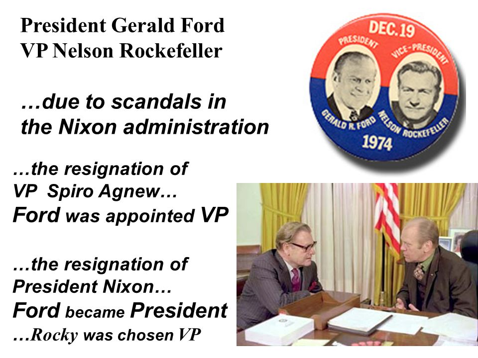 Nixon-Ford Administrations