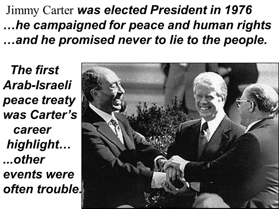 Jimmy Carter was elected President in 1976