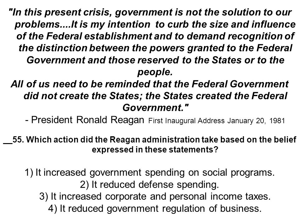 It increased government spending on social programs.
