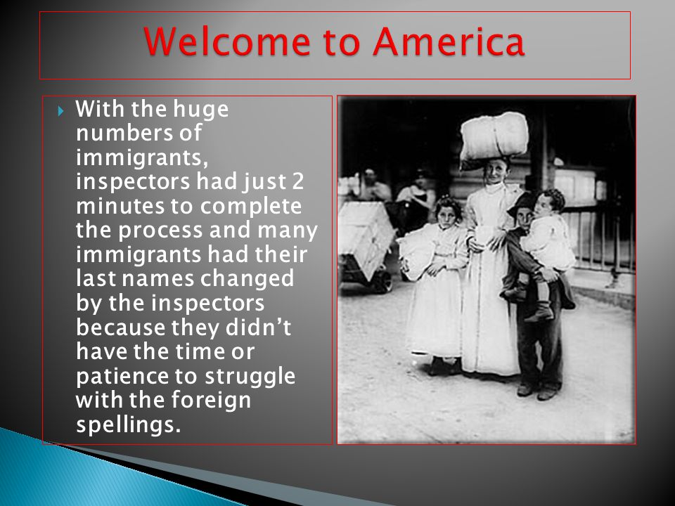 Immigration had a tremendous impact on america