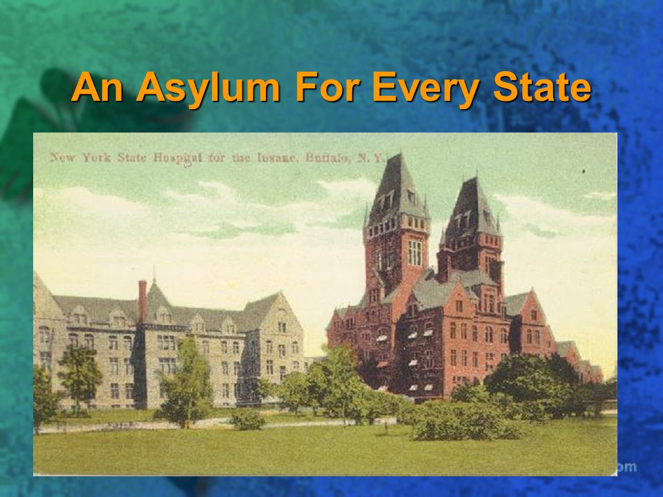 An Asylum For Every State