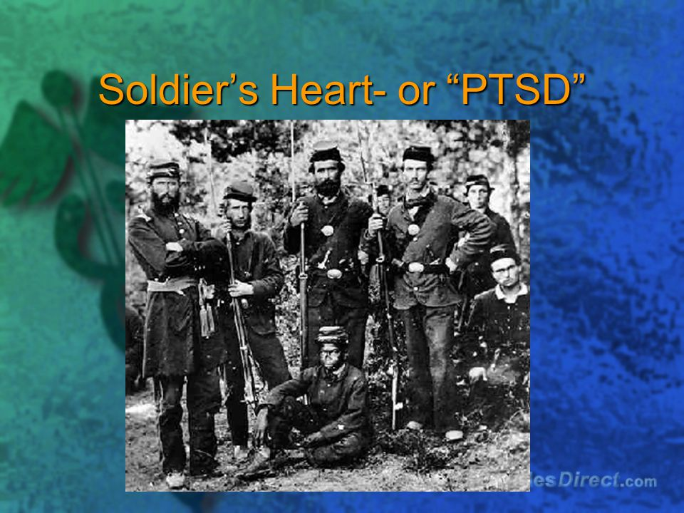 Soldier's Heart- or PTSD