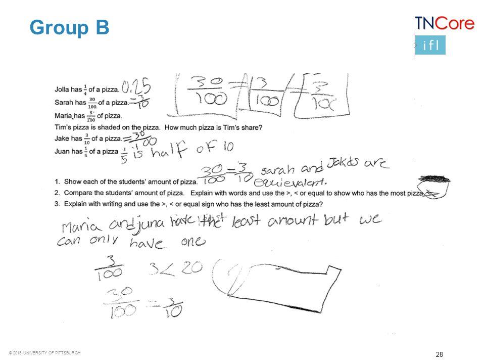 Group B Noticings and Wonderings: