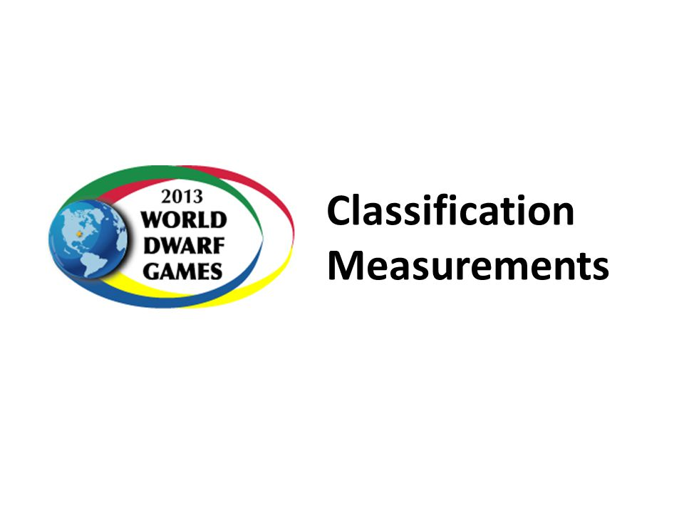 Classification Measurements