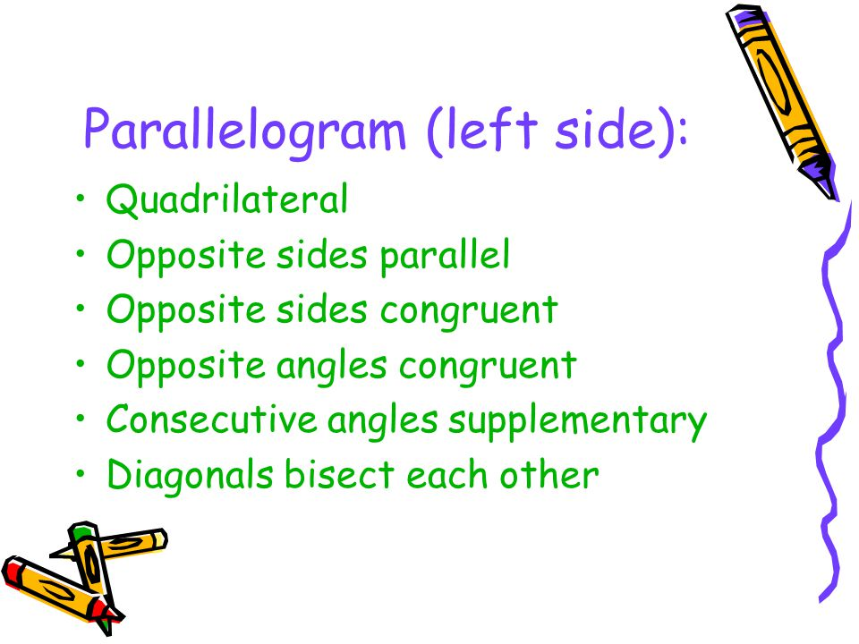 Parallelogram (left side):
