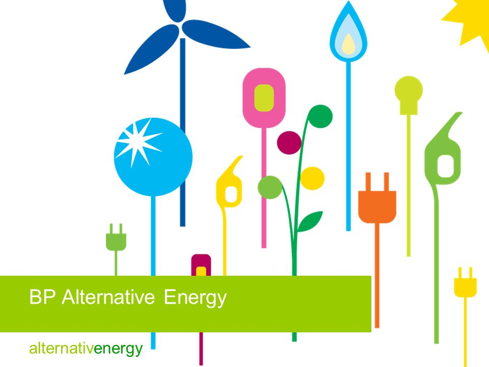 BP Alternative Energy 12