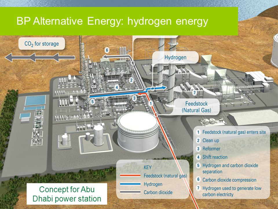 Concept for Abu Dhabi power station