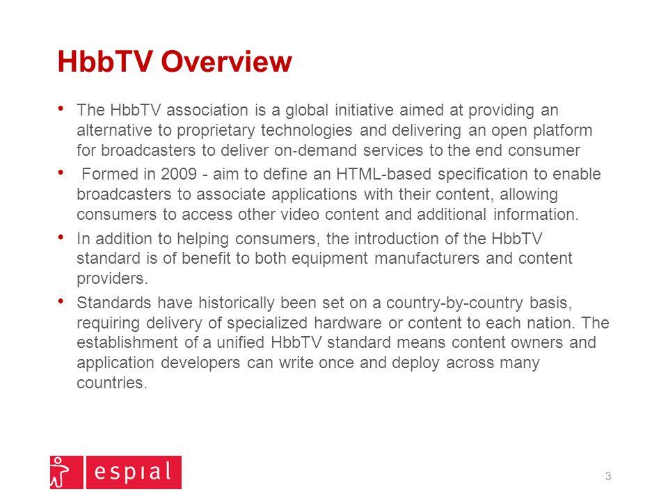 HbbTV Overview