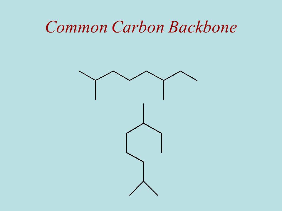 Common Carbon Backbone