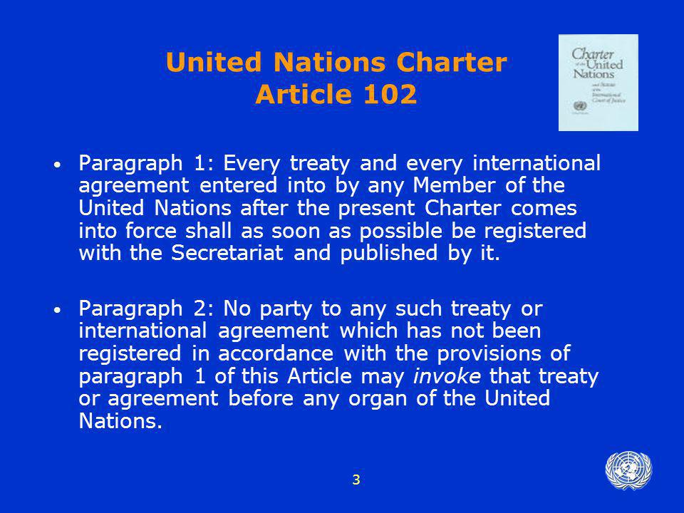 United Nations Charter Article 102