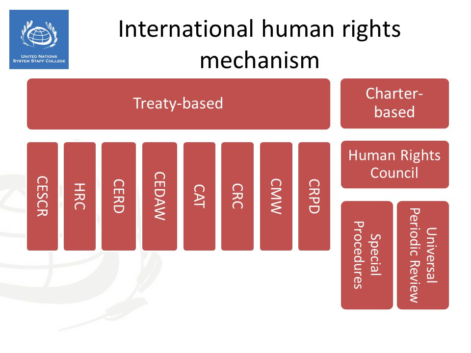 International human rights mechanism