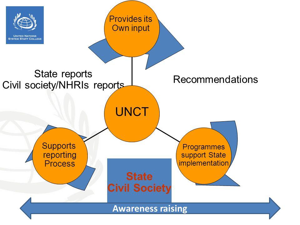 Civil society/NHRIs reports