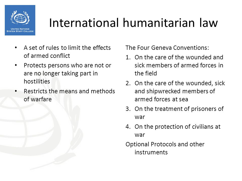 the international humanitarian law human rights I a s c qu e s t ions frequentlyasked questions on international humanitarian, human rights and refugee law inthe context of.