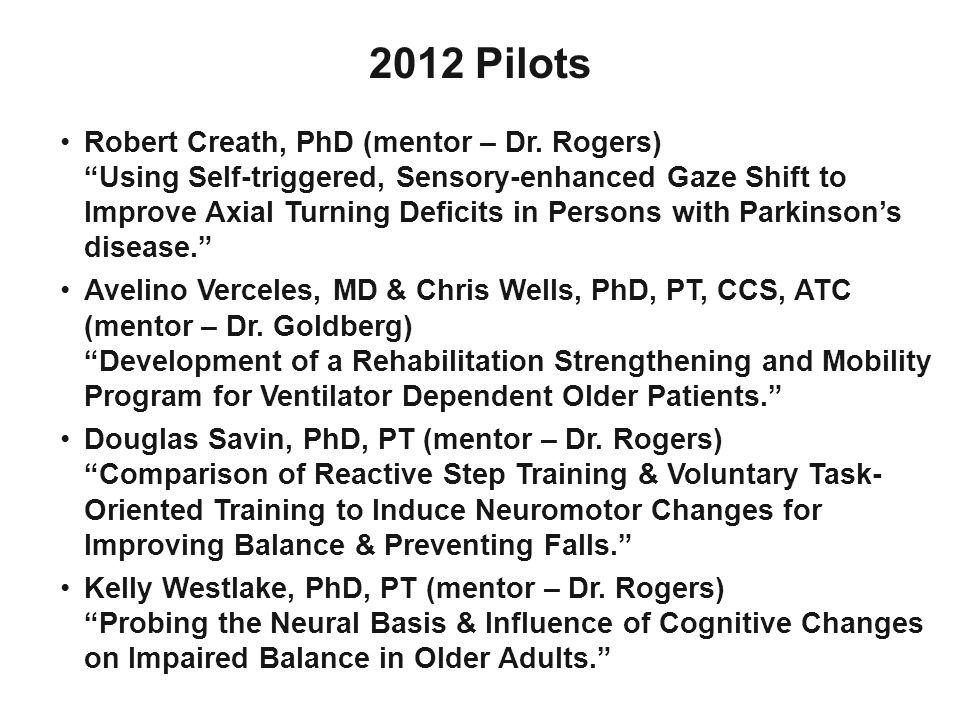 2012 Pilots