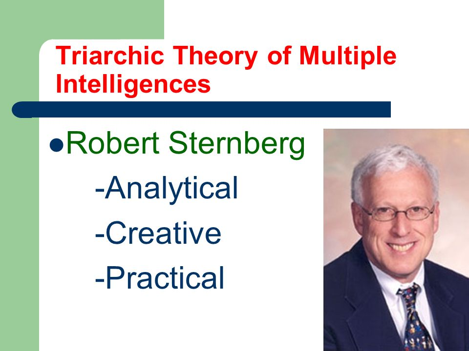 Triarchic Theory of Multiple Intelligences