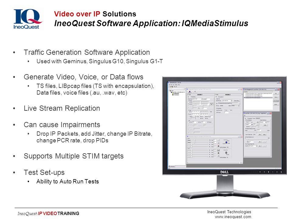 Traffic Generation Software Application