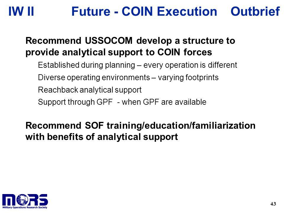 Future - COIN Execution