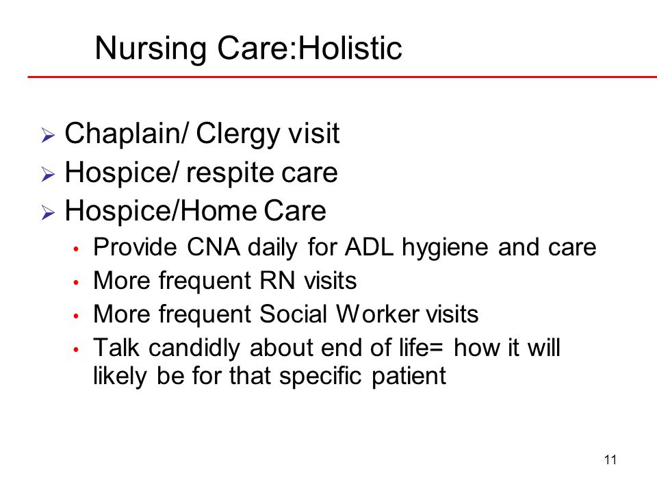 Nursing Care:Holistic
