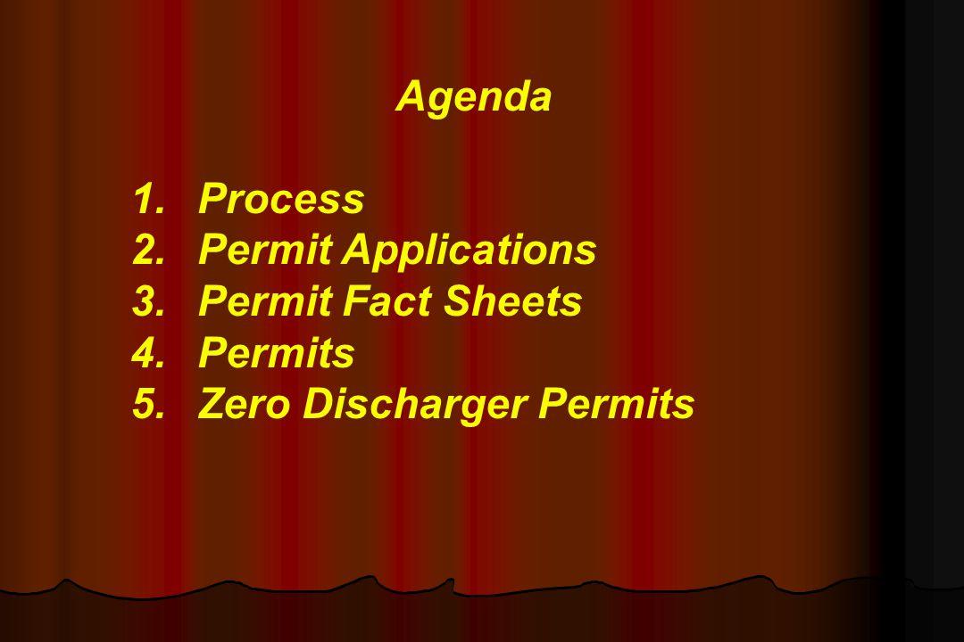 Zero Discharger Permits