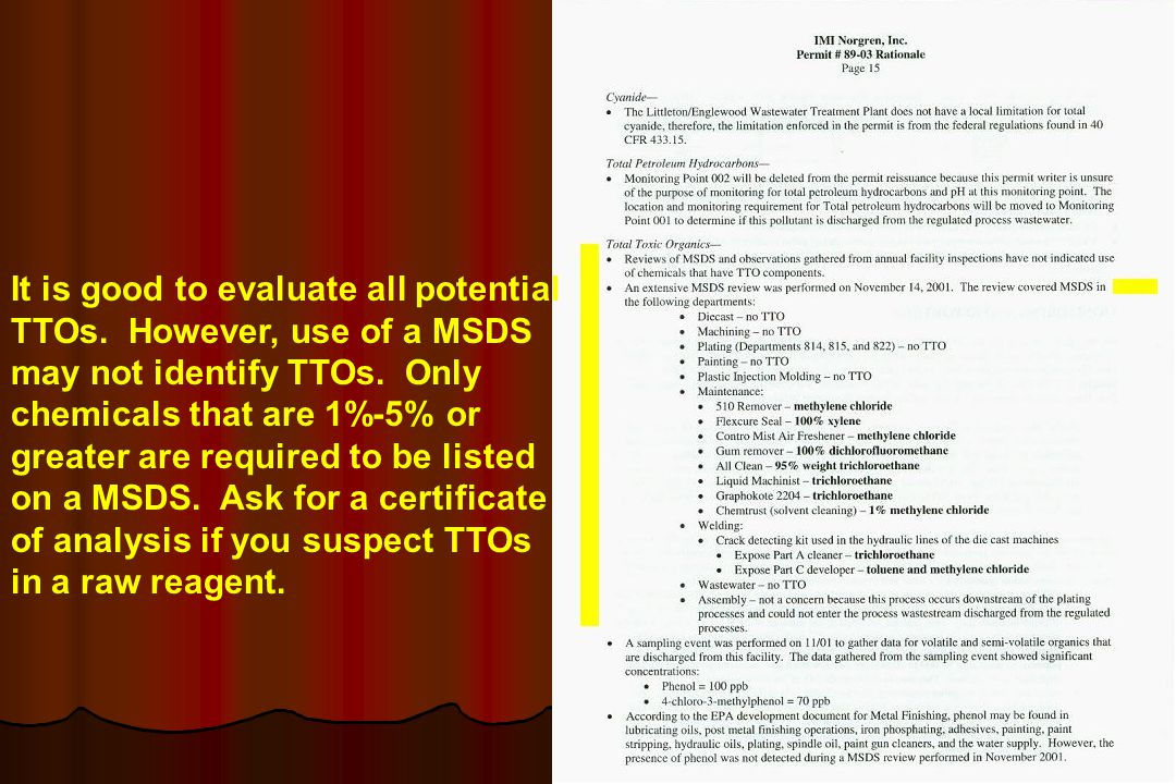 It is good to evaluate all potential TTOs