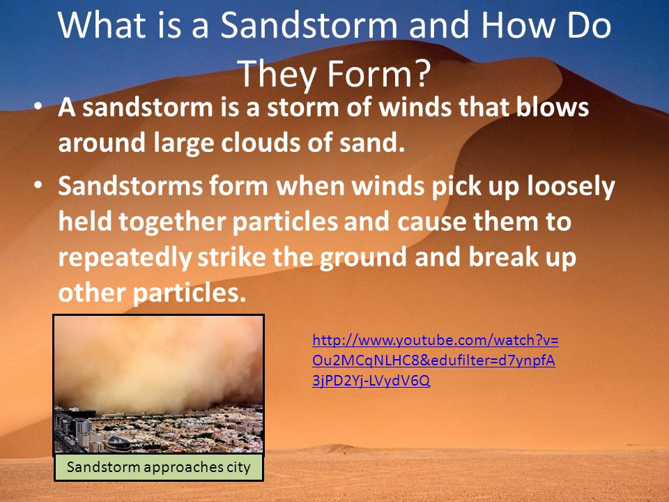 What is a Sandstorm and How Do They Form