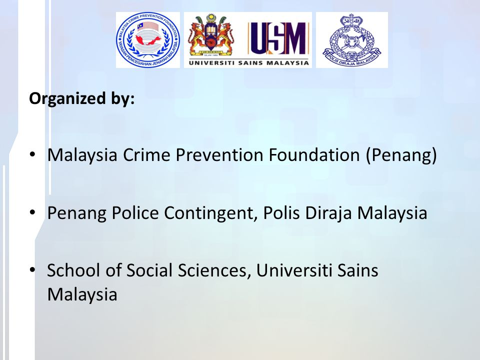 Malaysia Crime Prevention Foundation (Penang)
