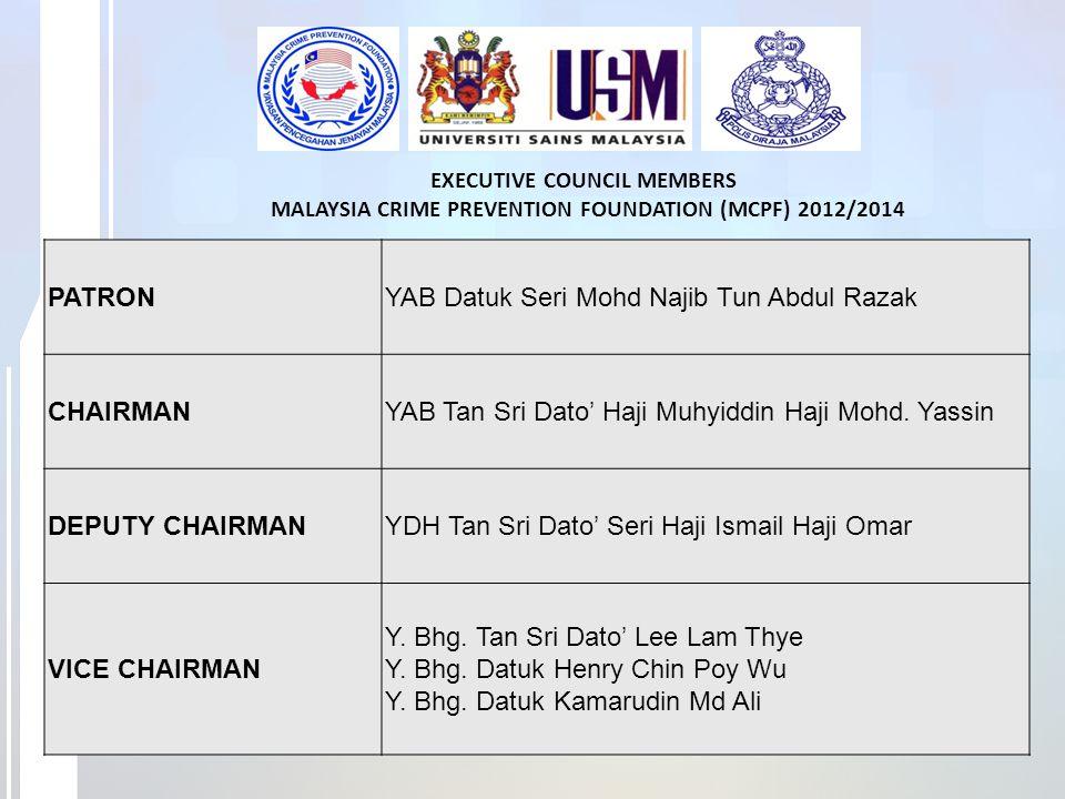 YAB Datuk Seri Mohd Najib Tun Abdul Razak