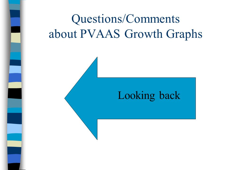 Questions/Comments about PVAAS Growth Graphs