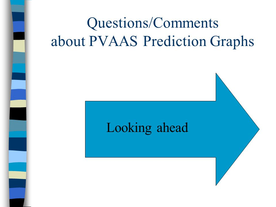 Questions/Comments about PVAAS Prediction Graphs