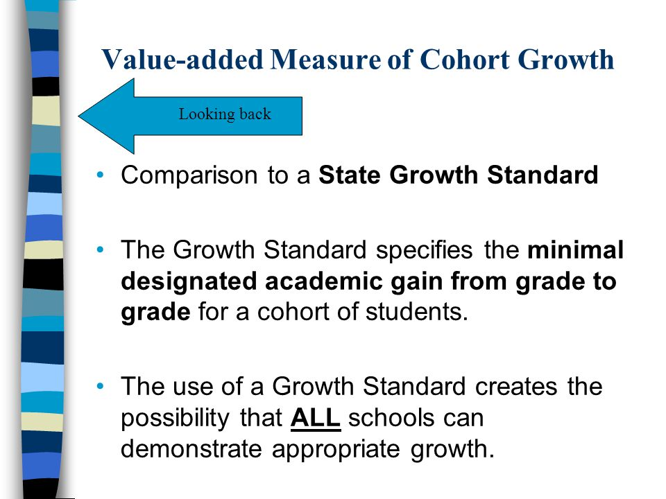 Value-added Measure of Cohort Growth