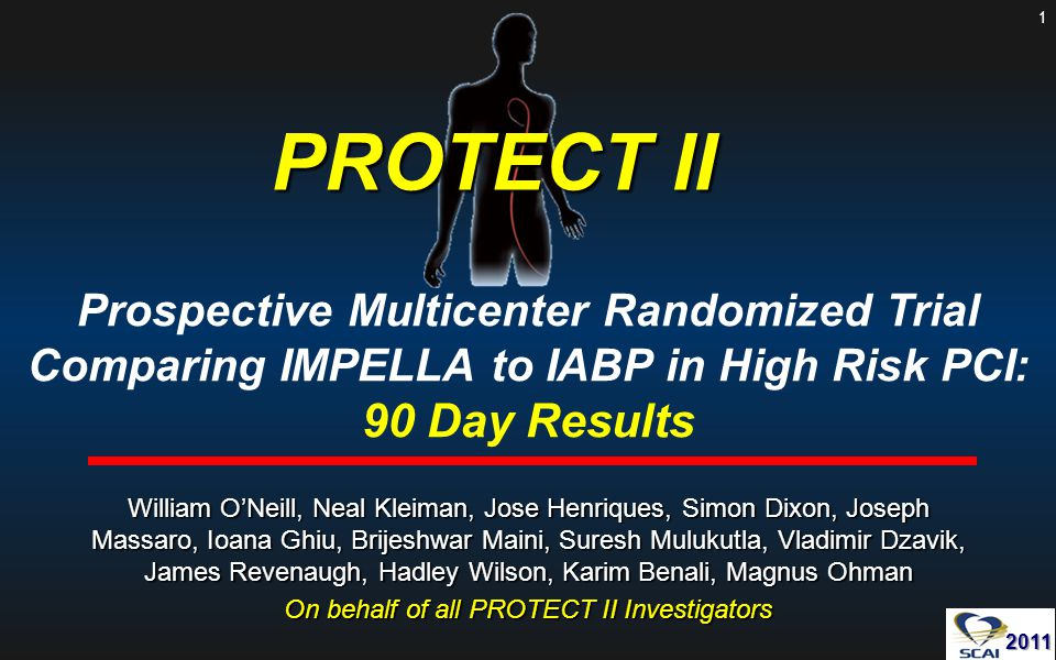 On behalf of all PROTECT II Investigators