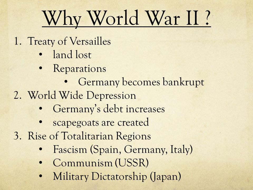 Why World War II Treaty of Versailles land lost Reparations