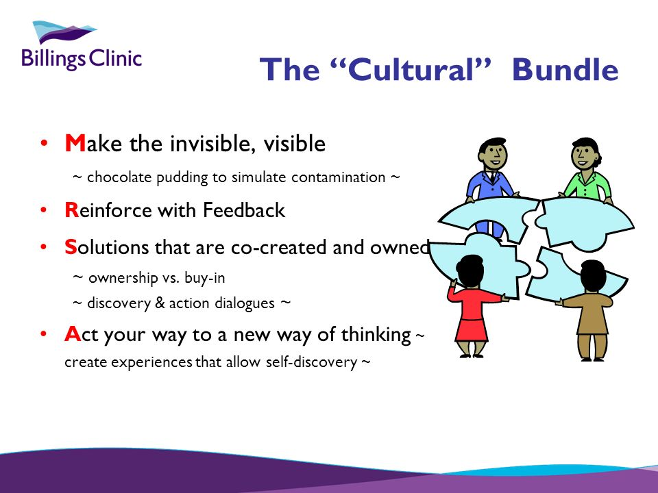 The Cultural Bundle Make the invisible, visible