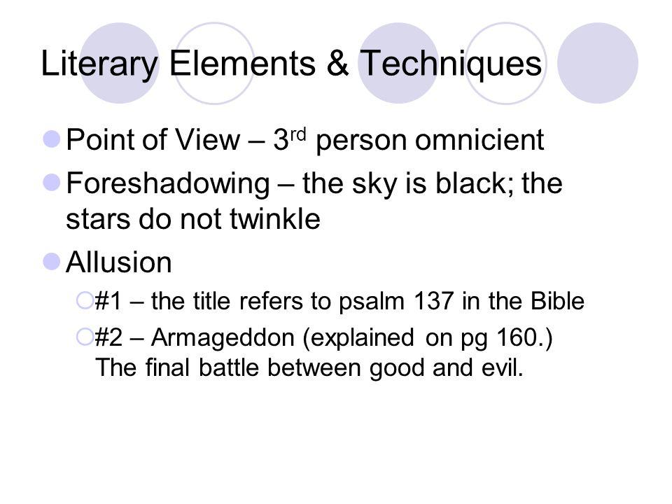 Literary Elements & Techniques