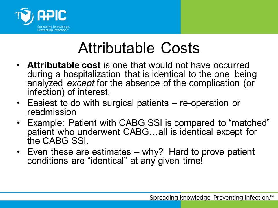 Attributable Costs