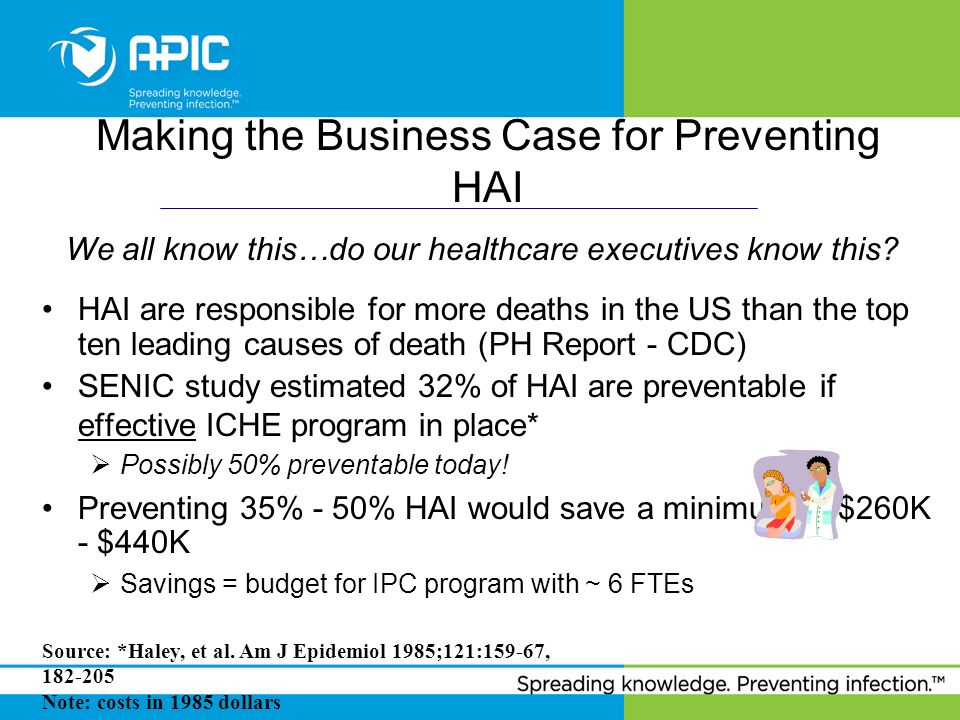 Making the Business Case for Preventing HAI