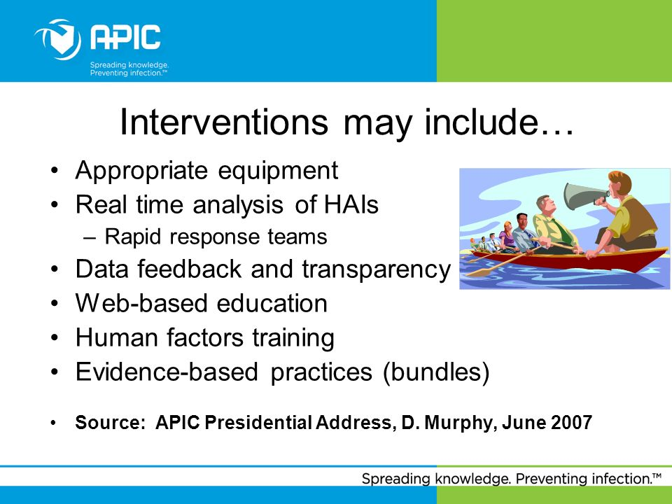 Interventions may include…