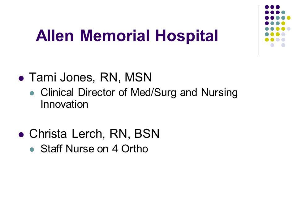 Allen Memorial Hospital