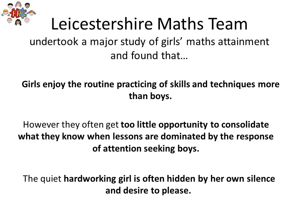 Leicestershire Maths Team