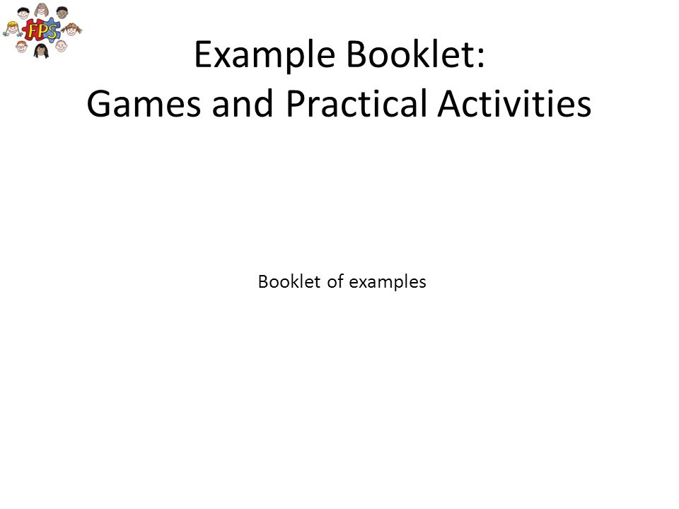 Games and Practical Activities