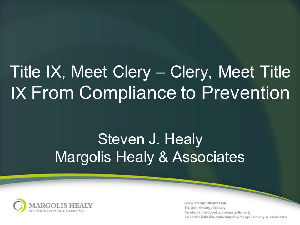 Steven J. Healy Margolis Healy & Associates