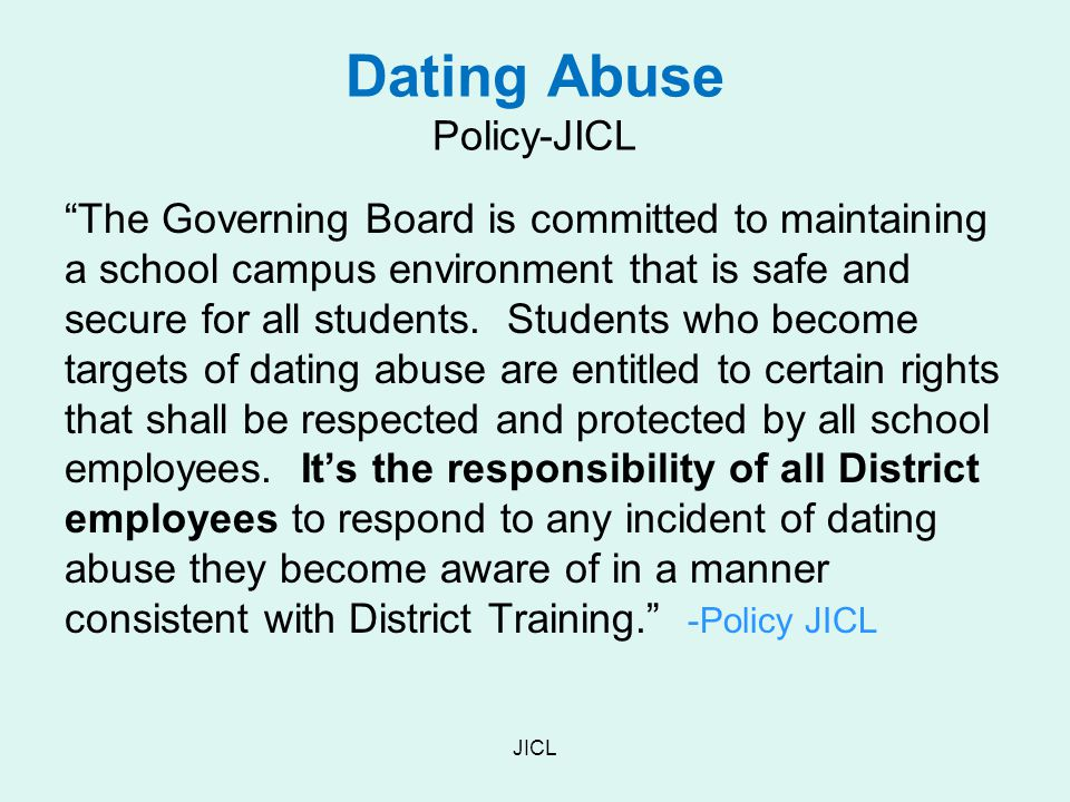 Dating Abuse Policy-JICL