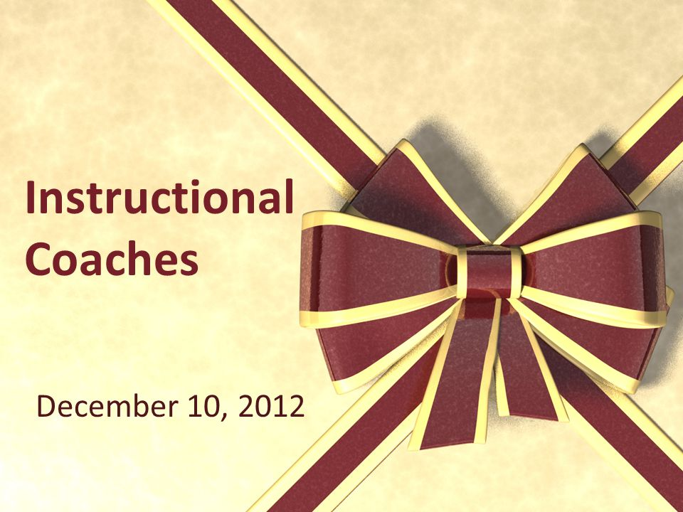 Instructional Coaches