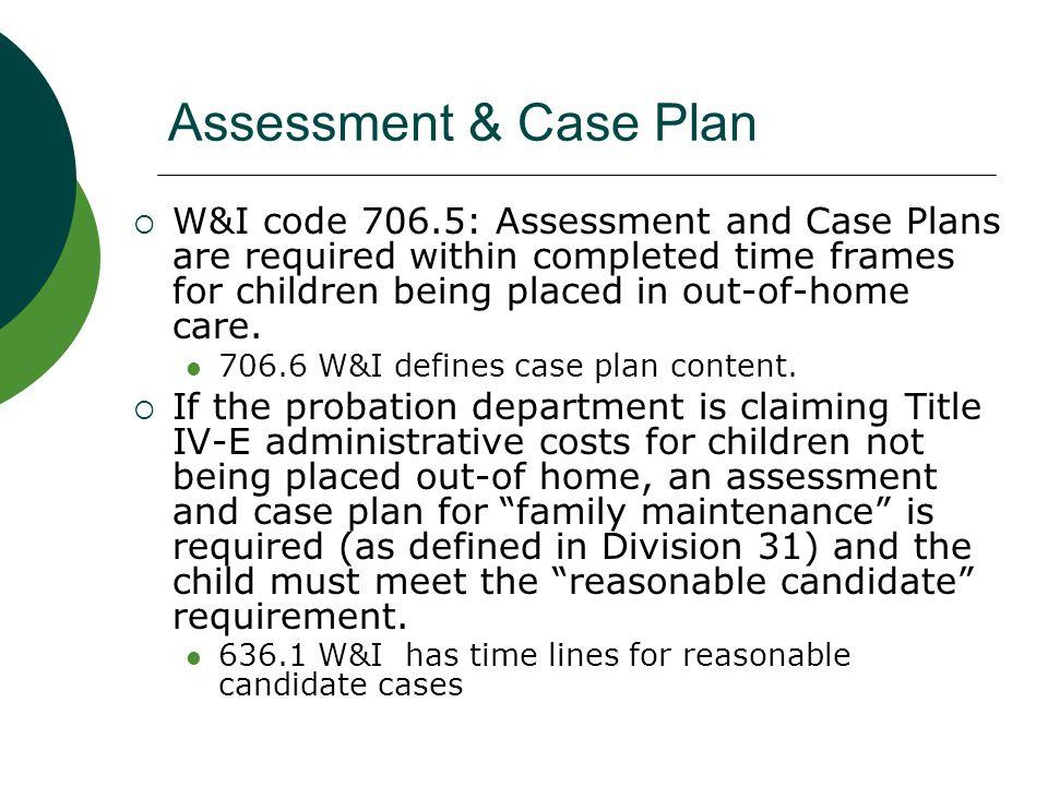 health assessment plan