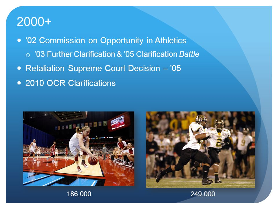 2000+ '02 Commission on Opportunity in Athletics