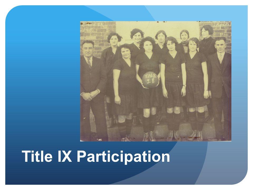 Title IX Participation