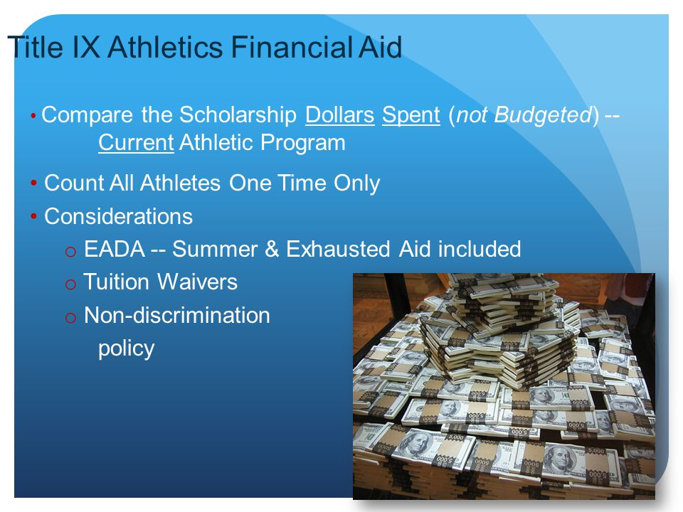 Title IX Athletics Financial Aid
