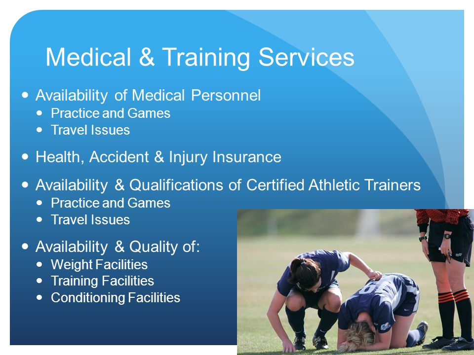 Medical & Training Services